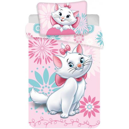 Set lenjerie pat copii Marie 100 x 135 + 40 x 60 SunCity JFK023426, roz*