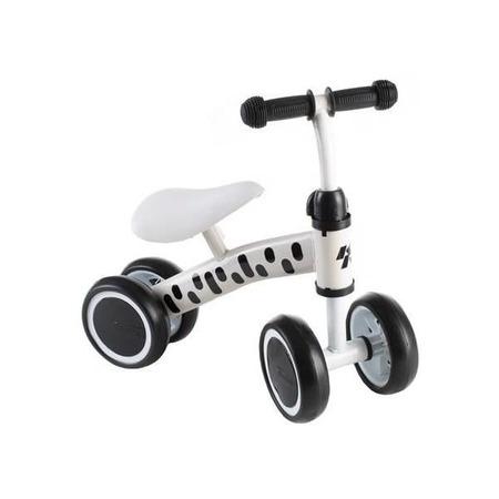 Bicicleta fara pedale cu 4 roti Kruzzel MY2861, alb*