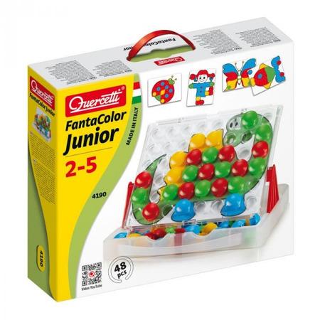 Joc creativitate si indemanare Quercetti Fantacolor Junior Joc Mozaic cu imagini 48 piese*