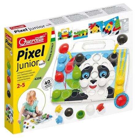 Joc Quercetti Pixel Junior Basic 40 piese*