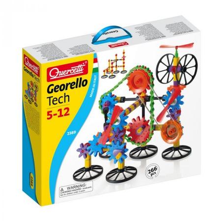 Joc creativ Georello Tech Quercetti roti dintate 3D*