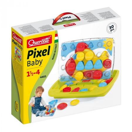 Joc creativ Pixel Baby 2 constructii mozaic, Quercetti*
