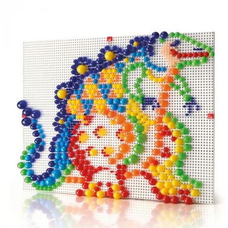 Joc creativ Fanta Color Modular 4 Quercetti creatie imagini mozaic 600 piese*