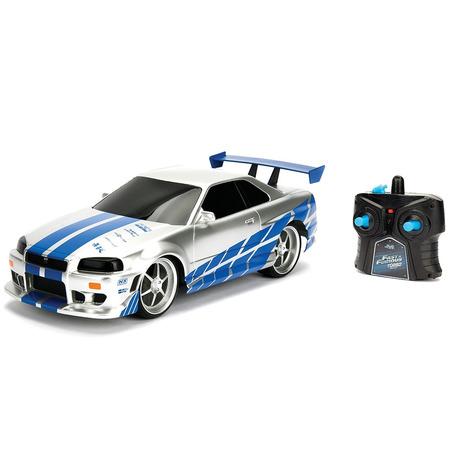 Masina Jada Toys Fast and Furious Nissan Skyline GTR 1:24 cu telecomanda*