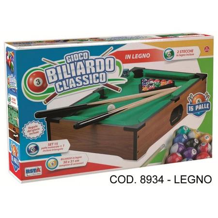 Masa biliard RS Toys pentru copii 50 cm din lemn*