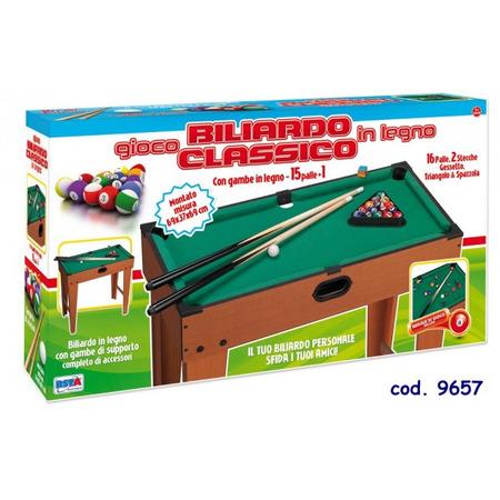 Masa biliard RS Toys pentru copii 69 cm din lemn xu picioare*