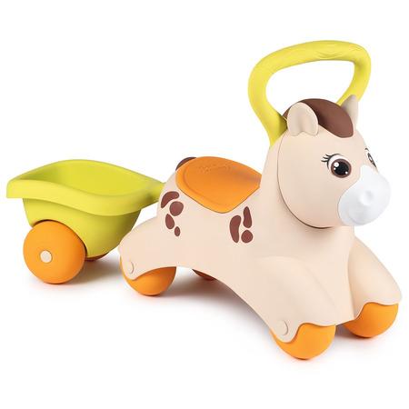 Masinuta de impins Smoby Baby Pony*