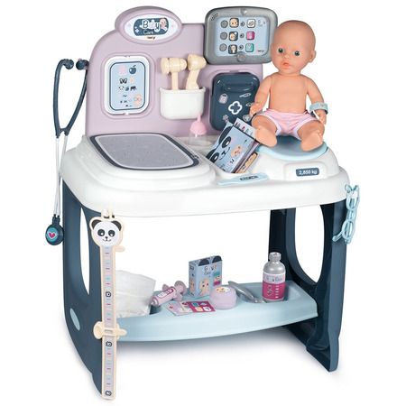 Centru de ingrijire pentru papusi Smoby Baby Care Center cu papusa si accesorii*