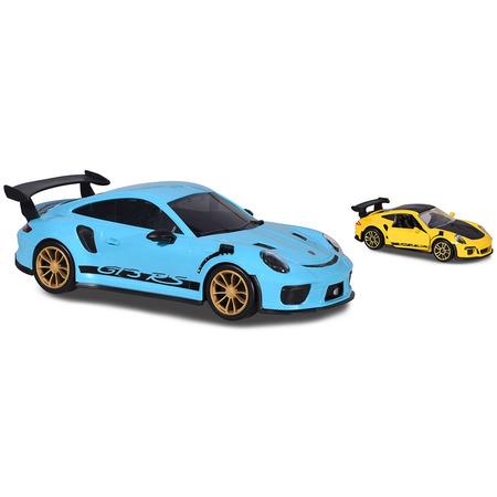 Masina Majorette Porsche 911 GT3 RS Carry Case cu masina Porsche 911 GT RS*