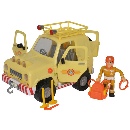Masina Simba Fireman Sam Mountain 4x4 cu figurina si accesorii*
