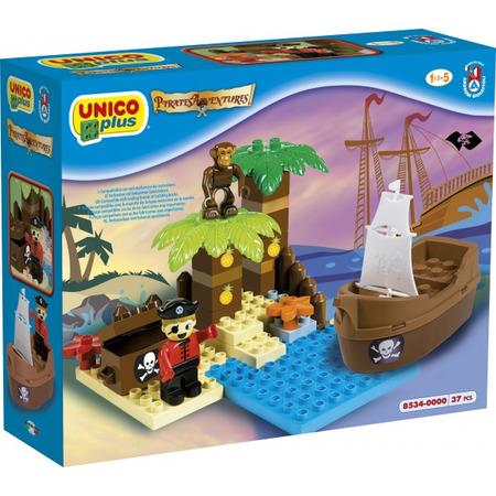 Set constructie unico plus set pirati, Androni Giocattoli*