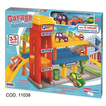 Garaj cu doua etaje si 3 vehicule incluse rs toys*