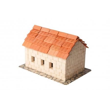 Kit constructie caramizi wise elk casuta acoperis tigla 315 piese reutilizabile*