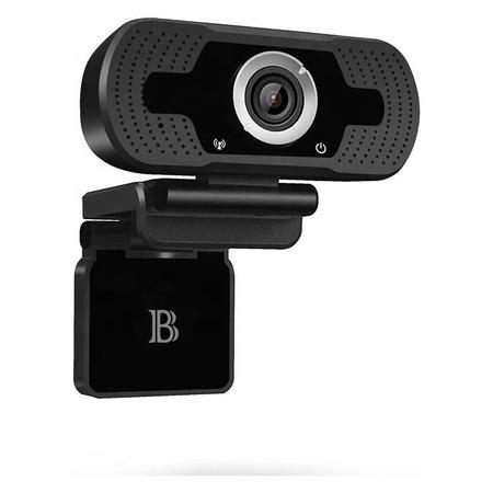Camera Web Bervolo® School, Webcam Scoala Online, 1920 x 1080 pixeli, 30Fps, microfon incorporat, Trepied inclus, FullHD