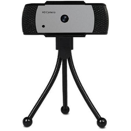 Camera web 5mp, usb 2.0, fullhd, autofocus, trepied inclus in one io0040, negru*