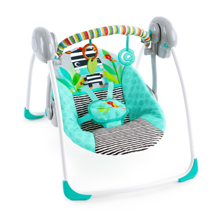 Leagan portabil swing zig zag zebra, Bright Starts*