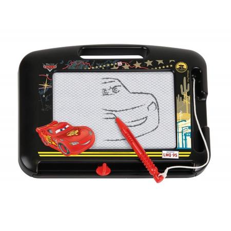 Tablita magnetica pentru desenat Lena Cars cu creion 22 cm*