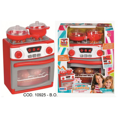 Aragaz functional cu cuptor electric si accesorii gatit RS Toys*