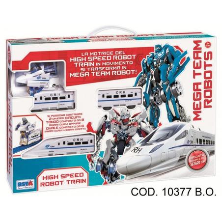 Tren care se transforma in robot RS Toys*