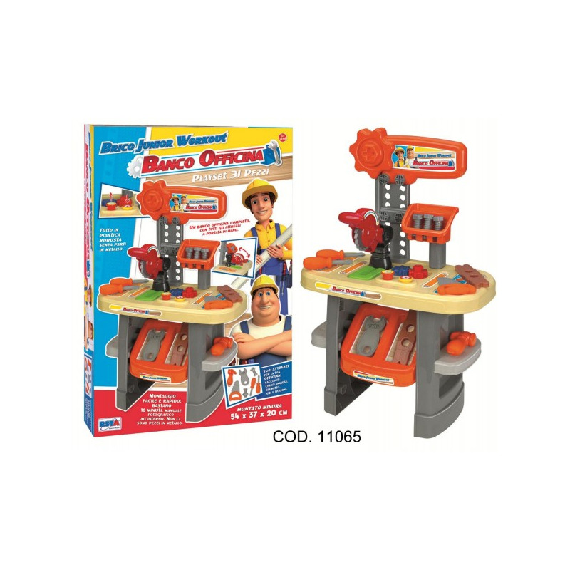 Banc de lucru cu scule si accesorii RS Toys*
