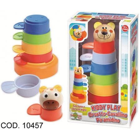 Joc stivuibil pentru copii Piramida RS Toys multicolor*
