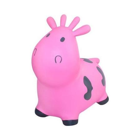 Jucarie gonflabila de sarit Vacuta Kruzzel MY17452, roz*