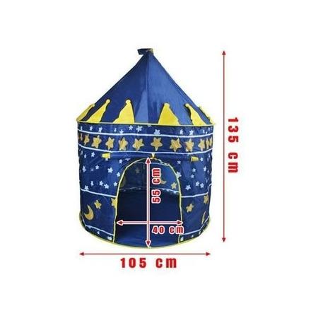 Cort copii tip Castel   Iso Trade MY17455, albastru*