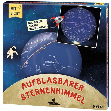 Glob gonflabil cu led 28 cm Constelatii Moses MS38098*