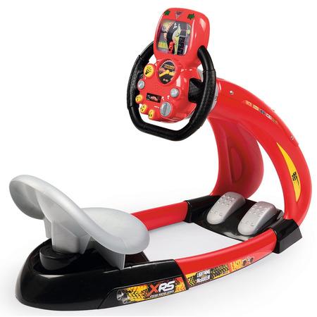 Simulator auto Smoby Cars 3 V8 Driver cu suport pentru telefon*