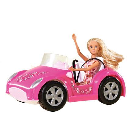 Masina Simba Steffi Love Beach Car cu papusa 29 cm*