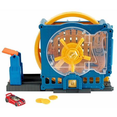 Pista de masini Hot Wheels by Mattel City Super Bank Blast-Out*