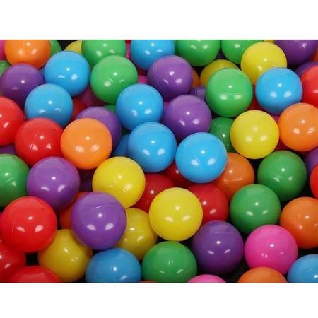 Set 200 Bile din Plastic Colorate, 5 cm Malatec MY2867, multicolor*