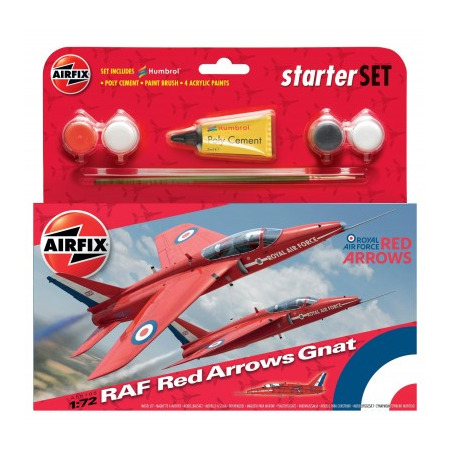 Kit constructie Avion RAF Red Arrows  Gnat, Airfix*
