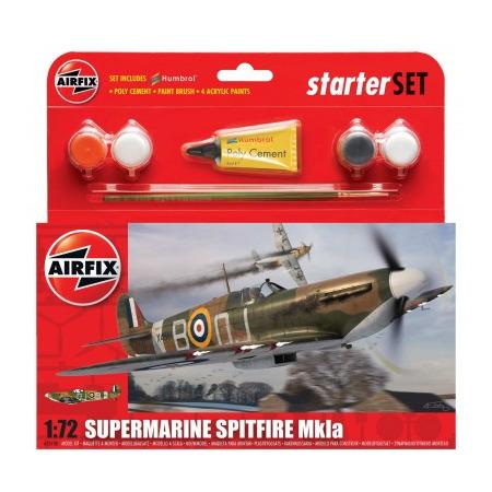 Kit constructie Avion Supermarine Spitfire MkIa, Airfix*