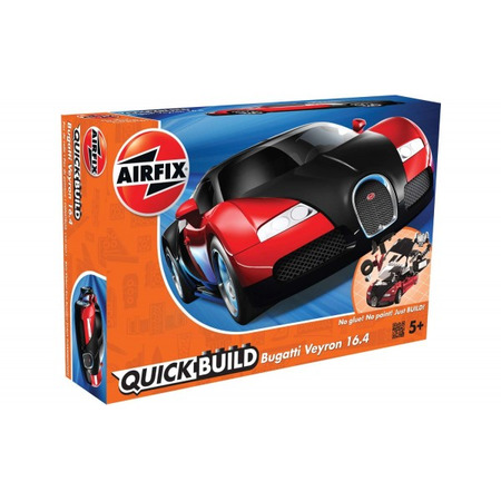 Kit constructie Airfix Bugatti Veyron Black and Red*