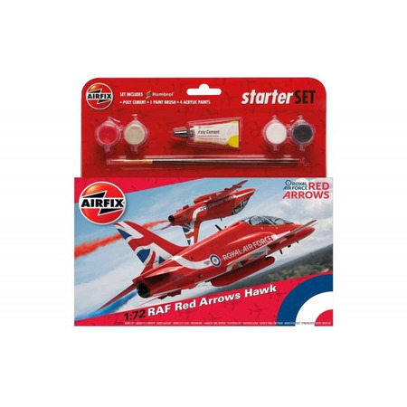 Kit constructie Airfix Avion RAF Red Arrows Hawk*