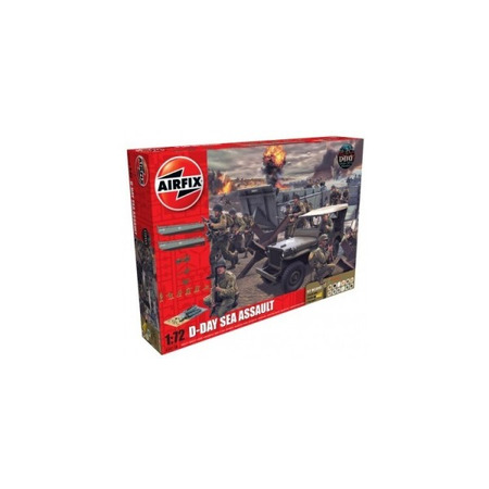 Kit constructie D-Day Sea Assault Set, Airfix*