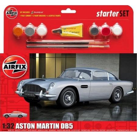 Kit constructie Airfix Masina Airfix 1/32 Aston Martin DB5 Silver*