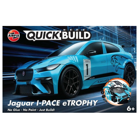 Kit constructie Airfix QUICK BUILD Jaguar I-PACE eTROPHY*