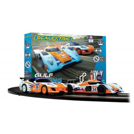 Pista masinute Gulf Racing 484 cm traseu masinute Gulf LMP vs GT Gulf, Globo*