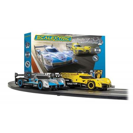 Set pista si masinute Scalextric Ginetta Racers traseu pista 484 cm*