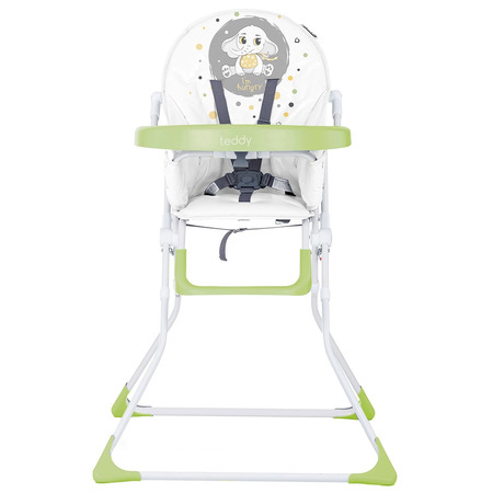 Scaun de masa Chipolino Teddy lime*