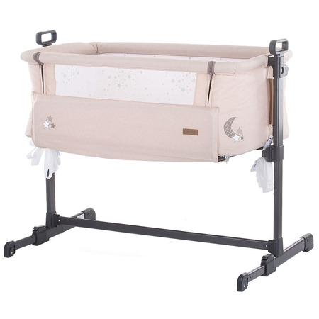 Patut Co-Sleeper Chipolino Close To Me beige printed stars inside*