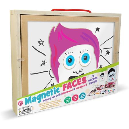 Cutie de activitati  - Chipuri magnetice Fiesta Crafts FCT-2884*