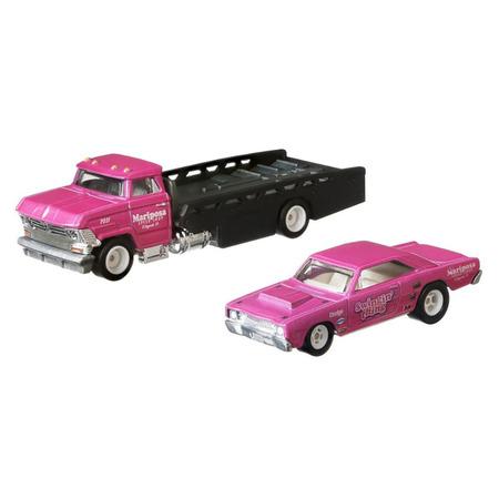 Camion Hot Wheels by Mattel Car Culture Horizon Hauler cu masina Dodge Dart*