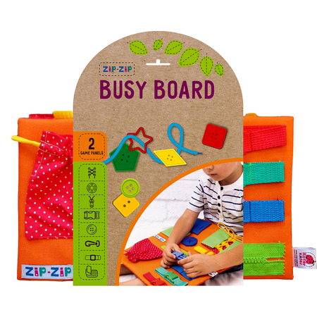 Joc de indemanare Plansa Senzoriala Busy Board  Roter Kafer RZ1001-02*