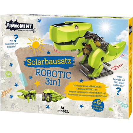 Kit constructie robot solar 3 in 1 PhenoMINT Moses MS30316*