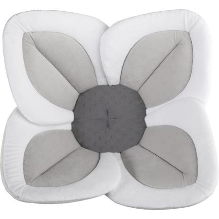 Cadita de plus si salteluta de joaca Lotus BloomingBath BB105L, alb/gri deschis/gri inchis*
