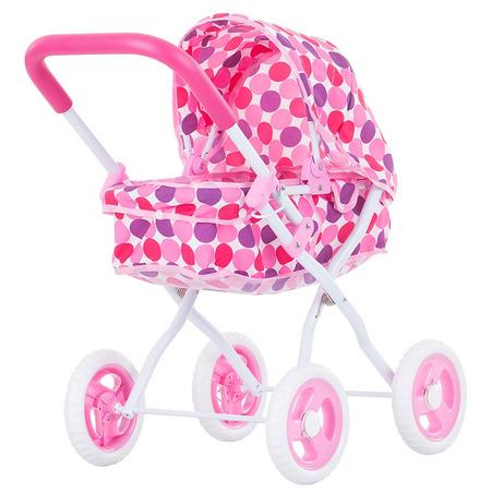 Carucior pentru papusi Chipolino Lora pink*