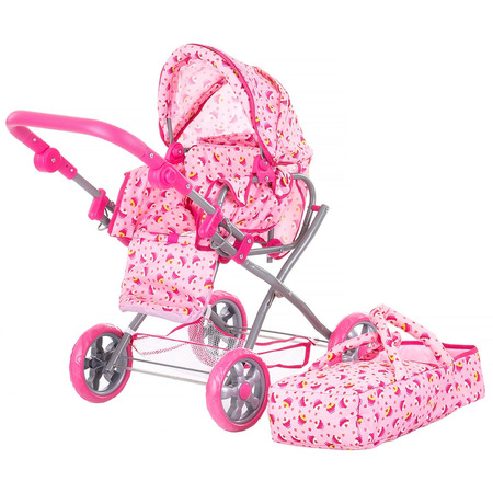 Carucior pentru papusi Chipolino Nelly pink*